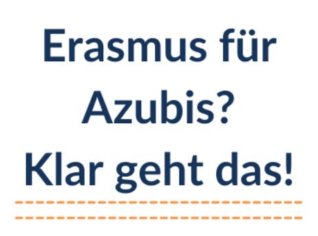 Erasmus+ für Azubis? Klar geht das!
