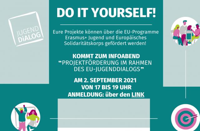 Förderung eurer Projektideen im Rahmen des EU-Jugenddialogs