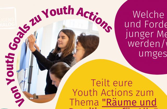 Von Youth Goals zu Youth Actions: Welche Forderungen junger Menschen werden umgesetzt?